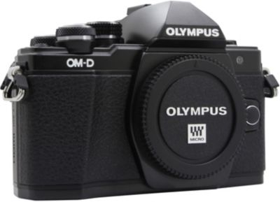 Appareil Photo hybride olympus om-D e-m10 mark ii nu noir