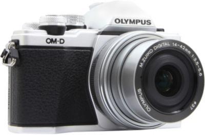 Appareil photo Hybride Olympus OM-D E-M10 Mark II silver + 14-42mm EZ + Sac bandoulière Lollipops Photo GLITTERS