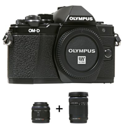Appareil photo Hybride Olympus OM-D E-M10 M II + 14-42IImm + 40-150mm