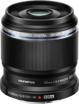 Objectif Olympus 30mm f/3.5 Macro ED noir M.Zuiko