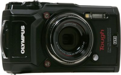 Appareil photo Compact Olympus Tough TG-5 noir