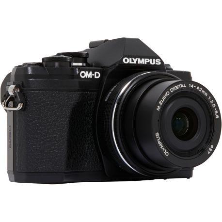Appareil photo numérique OLYMPUS OM-D E-M10 Mark III + 14-42mm Noir
