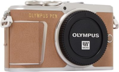 Appareil photo Hybride Olympus Pen E-PL9 Marron Nu