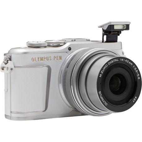 Appareil photo numérique OLYMPUS Pen E-PL9 Blanc + EZ-M14-42mm EZ Silver