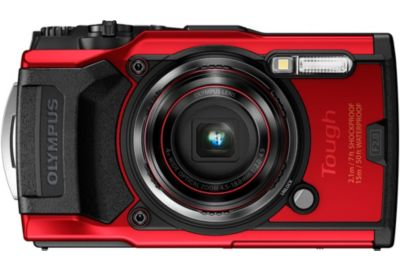 Compact OLYMPUS Tough TG-6 Rouge