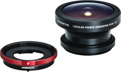 Objectif pour Compact Olympus Fisheye FCON-T02 pour...