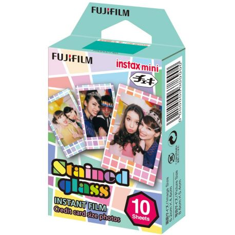 Papier FUJIFILM Film Instax Mini Stained Glass (x10)