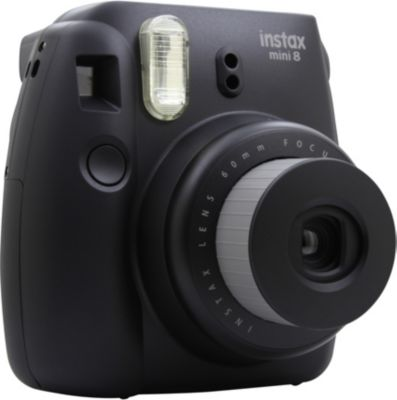 fuji instax mini 8 noir appareil photo compact boulanger. Black Bedroom Furniture Sets. Home Design Ideas