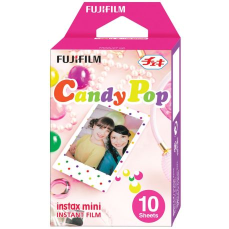 Papier FUJIFILM Film Instax Mini Candy Pop (x10)