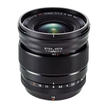Objectif FUJIFILM XF 16mm F1.4 R WR