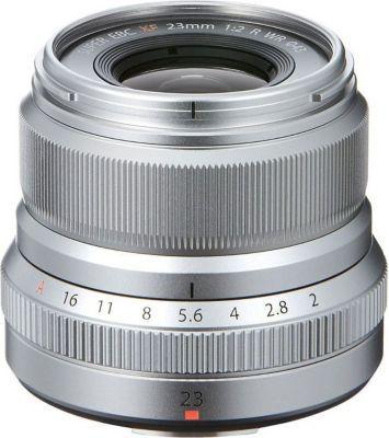 Objectif Fujifilm XF 23mm F2.0 R WR Silver