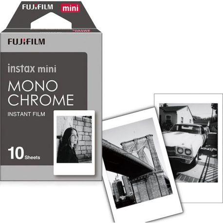 Papier FUJIFILM Film Instax Mini Monochrome (x10)