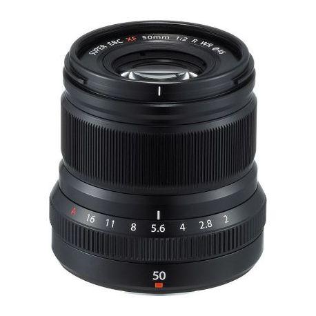 Objectif FUJIFILM XF50mmF2 R WR Noir