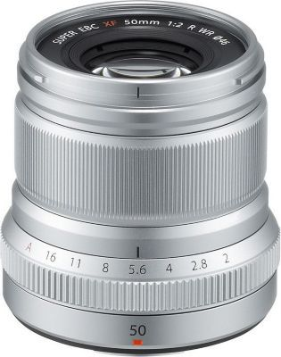 Objectif Fuji XF50mmF2 R WR Silver