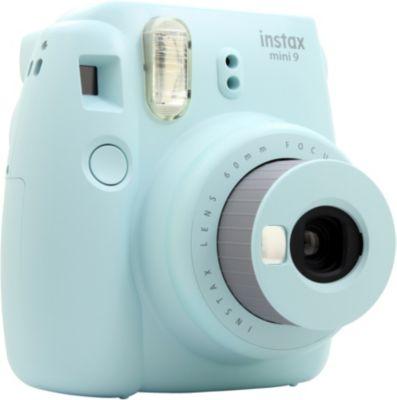 fuji instax mini 9 bleu givr appareil photo compact. Black Bedroom Furniture Sets. Home Design Ideas