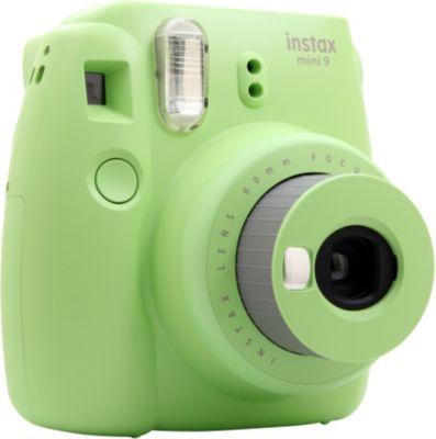 appareil photo compact fuji instax mini 9 vert citron. Black Bedroom Furniture Sets. Home Design Ideas