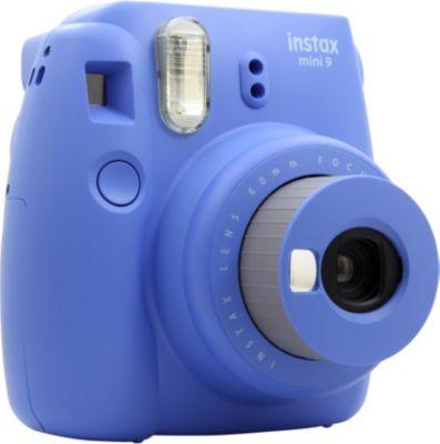 Appareil photo Instantané Fuji Instax Mini 9 Bleu cobalt