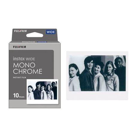 Papier FUJIFILM Film Instax Wide Monochrome X10