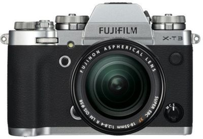Appareil photo Hybride Fujifilm X-T3 Silver + XF18-55mm