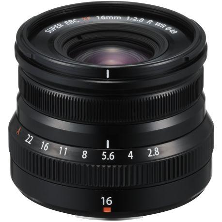 Objectif FUJIFILM XF16mm F2.8 R WR Noir