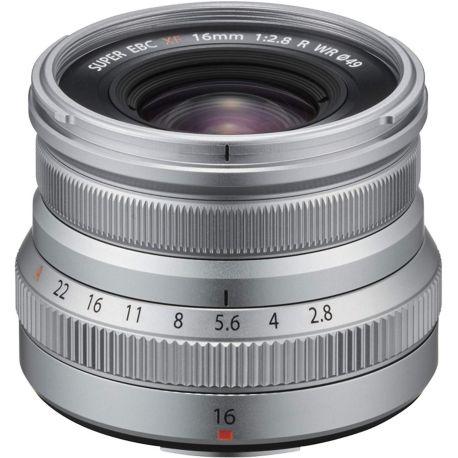 Objectif FUJIFILM XF16mm F2.8 R WR Silver
