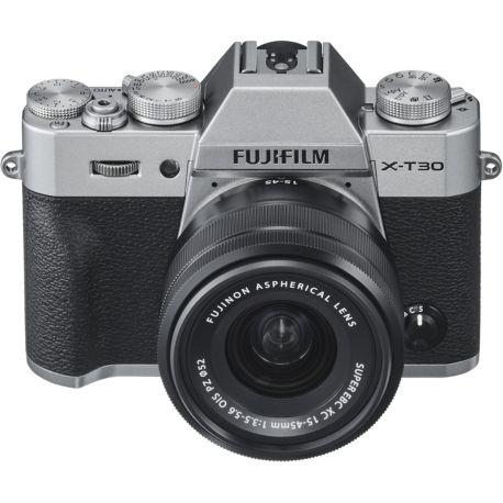 Appareil photo numérique FUJIFILM X-T30 Silver + XC15-45mm PZ