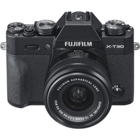 Appareil photo numérique FUJIFILM X-T30 Noir + XC15-45mm PZ