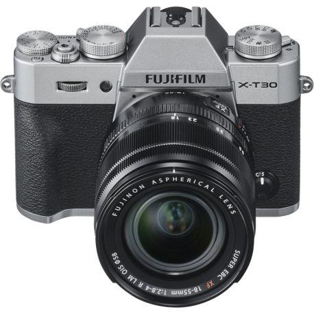 Appareil photo numérique FUJIFILM X-T30 Silver + XF 18-55mm