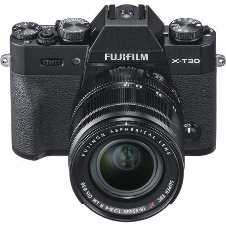 Appareil photo numérique FUJIFILM X-T30 Noir + XF 18-55mm