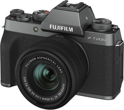 Appareil photo Hybride Fujifilm X-T200 Dark Silver + XC15-45mm