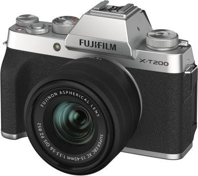 Appareil photo Hybride Fujifilm X-T200 Silver + XC15-45mm