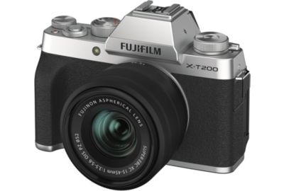 APN FUJIFILM X-T200 Silver + XC15-45mm