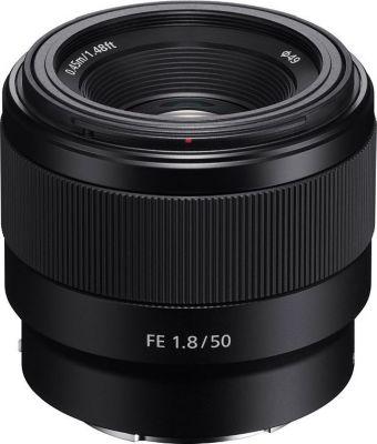 Objectif pour Hybride Plein Format Sony FE 50 mm f/1.8 Noir