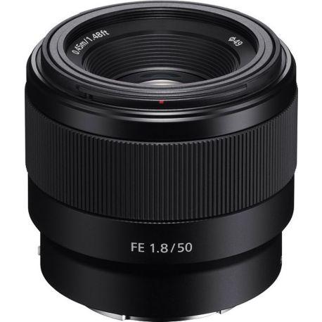 Objectif SONY FE 50 mm f/1.8 Noir