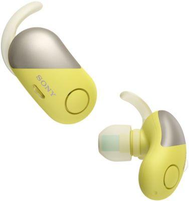 Ecouteurs Sony WFSP700NB.CE7 Jaune
