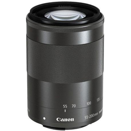 Objectif CANON EF-M 55-200mm noir f/4.5-6.3 IS STM