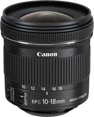 Objectif pour Reflex Canon EF-S 10-18mm f/4.5-5.6 IS STM