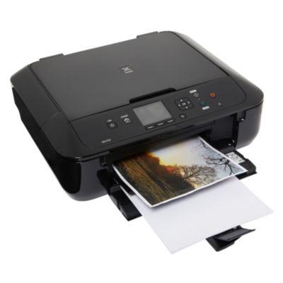 Imprimante jet d'encre Canon MG 5750 Noir + Cartouche d'encre Canon CLI571 XL NOIR