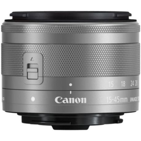 Objectif CANON EF-M 15-45mm f3.5-6.3 IS STM Argent