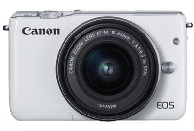 APN CANON EOS M10 Blanc + EF-M 15-45 Argent
