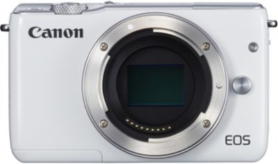 Appareil photo Hybride Canon EOS M10 Blanc Nu