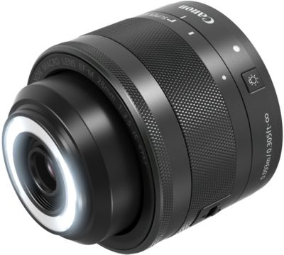 Objectif pour Reflex Canon EF-M 28 mm f/3,5 Macro IS STM