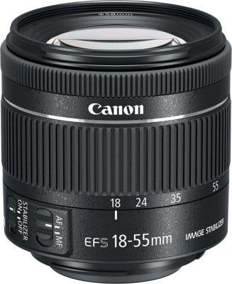 Objectif pour Reflex Canon EF-S 18-55mm f/4-5,6 IS STM