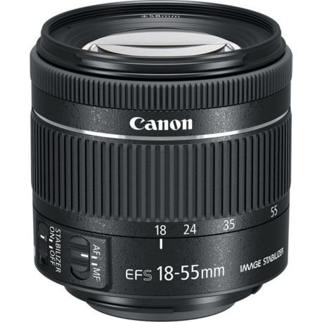 Objectif CANON EF-S 18-55mm f/4-5.6 IS STM