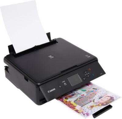 Imprimante jet d'encre Canon TS 5055 Noir + Cartouche d'encre Canon PGI 570 Noire Pigmentée