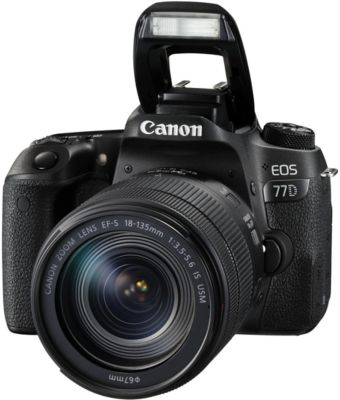 Appareil Photo reflex canon eos 77d + 18-135 is usm
