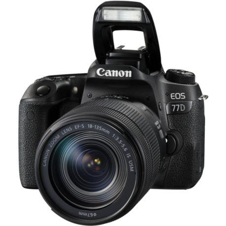 Reflex CANON EOS 77D + 18-135 IS USM