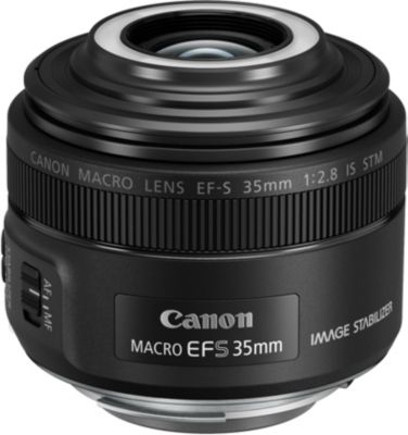 Objectif pour Reflex Canon EF-S 35 mm f/2,8 Macro IS STM