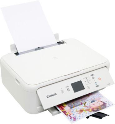 Imprimante jet d'encre Canon TS 5151 Blanc + Cartouche d'encre Canon PG540 Noire