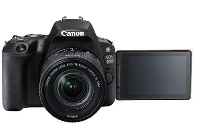 Reflex CANON EOS 200D Noir + 18-55mm IS